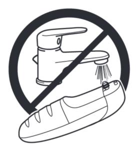 Nie myj korpusu urządzenia