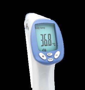 Termometr bezdotykowy- wyświetlacz