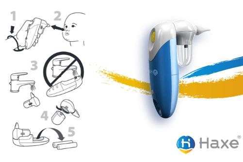 Jak używać aspiratora do nosa- zasady użytkowania